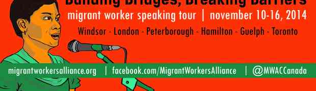 Building Bridges, Breaking Barriers: Migrant Worker Speaking Tour