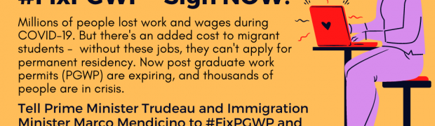 Petition: International Students Need Support! #FixPGWP
